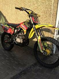 RMZ 450 05 PLATE 1800 ONO call or text me on 07817995720