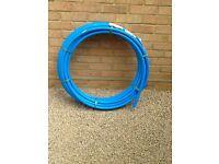 Unused MDPE water pipe
