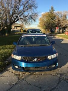 "Forsale 2009 Honda Civic Si with newer engine ""saftied"""
