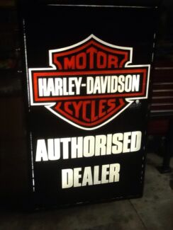Harley Davidson genuine light box Semaphore Port Adelaide Area Preview