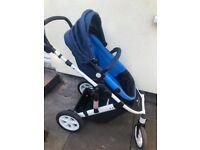 pram stroller lightweight / pet and smoke free