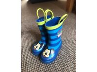 Boys Mickey Mouse wellies, slippers & pumps - infant size 6