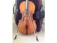 1/2 size cello intermediate