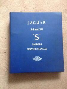 Jaguar 3.8 S Service Manual Magill Campbelltown Area Preview