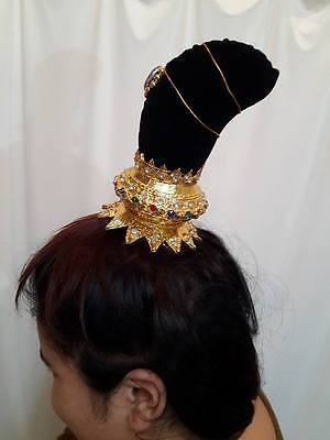 0927f9b82 Traditional Thai Dance Costume gold HEADDRESS crown arts craft WOMEN RAM  TIARA Collectibles