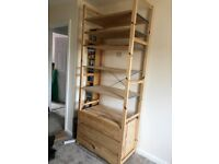 IKEA IVAR Open Shelves with 3 drawer unit