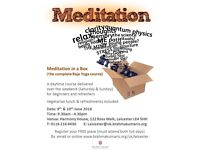 Meditation Course (Free of Charge)