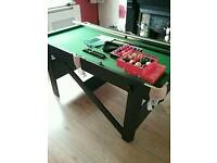5ft SNOOKER & POOL TABLE WITH ALL ACCESSORIES : PRESCOT COLLECT