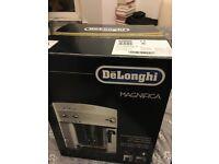BRAND NEW SEALED DeLonghi ESAM3000B Magnifica Bean-to-Cup Coffee Machine, Black