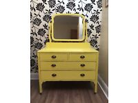 Lovely up cycled dressing table
