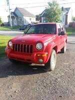 jeep liberty limited 2002 **NEGOCIABLE**