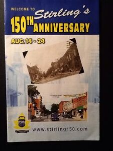 STIRLING - 150th Anniversary Commemorative Booklet