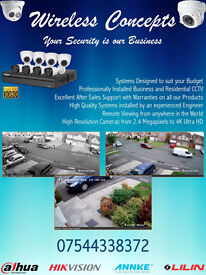 CCTV INSTALLED- GREAT DEALS ON CCTV CAMERA'S