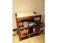Changing Table in good condition with mat - £15