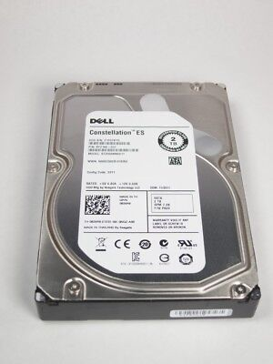 "835R9 DELL ENTERPRISE CLASS 2TB 7.2K SATA 3.5"" 3Gbps HDD"