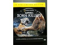 National Geographic Natures Born Killers 10 DVD limited edition gift tin