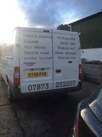 Signwriting removal cars/vans