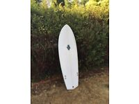 "BRAND NEW Handmade 5'5"" surfboard, custom surfboards, fish, shortboard, handshaped, cornwall"