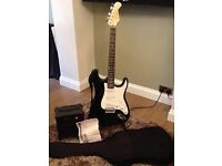 Burntwood electric guitar