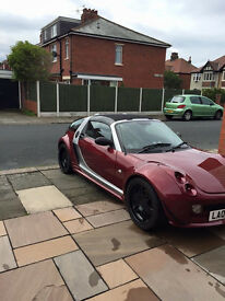 Smart Roadster Coupe Brabus -Fast sports car