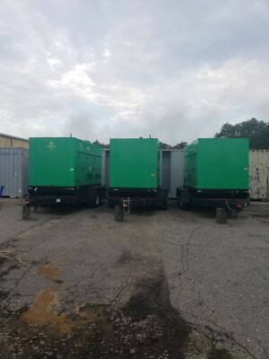 2015 Taylor Tgr70 Lp Gas Or Natural Gas Trailer Mounted Generators