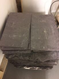 Slate tiles 50cm x 30cm - £1 each