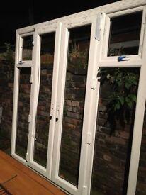 Patio door frames