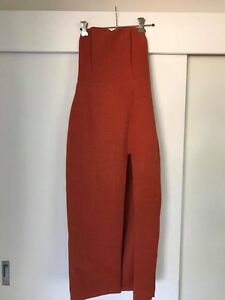 Rust Strapless Dress Woonona Wollongong Area Preview