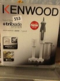 Kenwood hand blenders