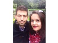 Young professional couple looking for a furnised flat to rent!!!