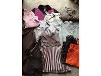 Woman's size 10 bundle of tops, some never worn. All clean.