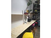 Desk space in a lovely creative shared studio in Dalston/Hackney