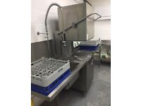 Industrial Dish Washer RRP £2995 - QUICK SALE! - TAP/SINK/WASHER/UNITS