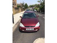 Ford Focus 1.8 Ghia 1 Years MOT Power Steering Electric Windows Central Locking Drives Nice