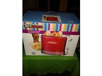 Hotdog and bun toaster