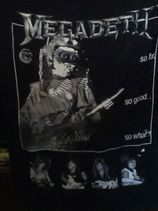 ► MEGADETH Fabric Poster Flag from 1988 - RARE ◄