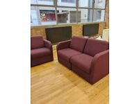 FREE DELIVERY - Modular Reception/Visitor/Waiting Room Seating Chairs