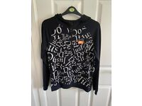 Nike Just Do it over the head hoodie size XL 158-170cm worn once so excellent condition.