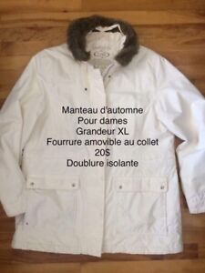 Manteau d'automne pour dames