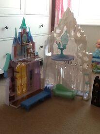 Disney Frozen ice palace / castle