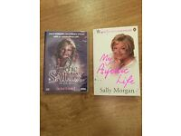 Sally Morgan Psychic signed book and DVD