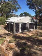 Camper Trailer sleeps 6 + 45 lt Fridge + Gas Hot Water Service Flagstaff Hill Morphett Vale Area Preview