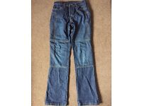 Ladies Motorcycle Draggin Jeans. Size 8. Worn once.