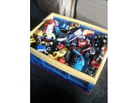 Big Box of Toy Cars Job Lot - Great for a Nursery
