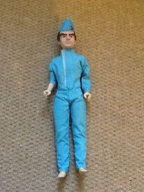 Thunderbird figure and mini thunderbird 2
