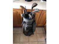 Pro summit golf club set and bag