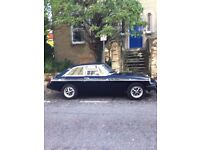 MGB GT in good condition, well-maintained