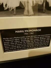 Framed Marilyn Monroe Pic