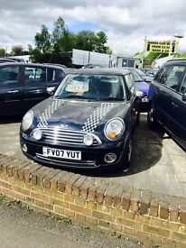 ** 2007 07 MINI Hatch One 1.4 3 door **