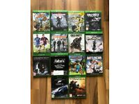 Xbox one games , £10 each , as new , Price stands , no offers !